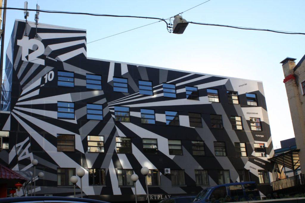 АртПромАльп — художественные работы с использованием технологии промышленного альпинизма